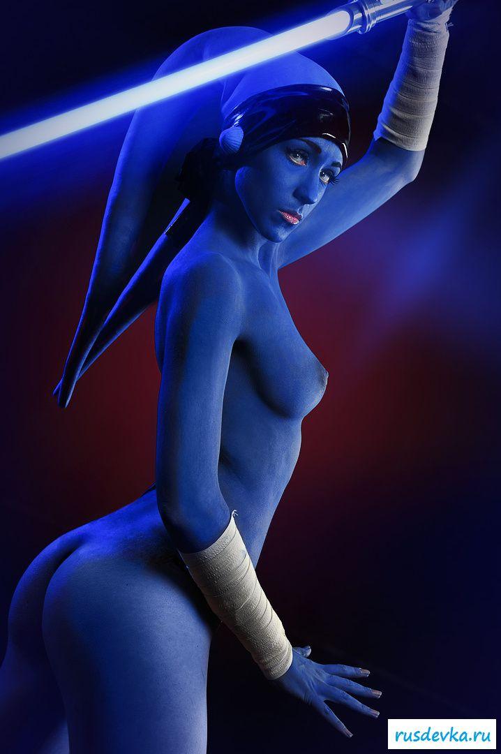 Косплейная порнуха сучек из Звездных воинов